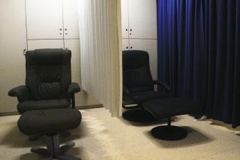 手術後の休憩室